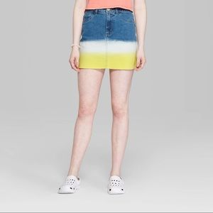 Wild Fable denim skirt